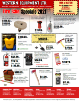 Fire Safety Equipment Flyer