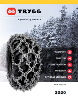 Trygg Tire Chain Catalog