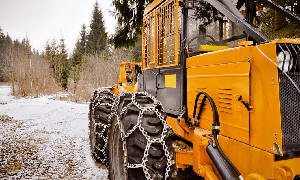 Western Equipment industrial tire chains