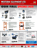 Our 2020 Safety Specials Flyer - Western Equipment
